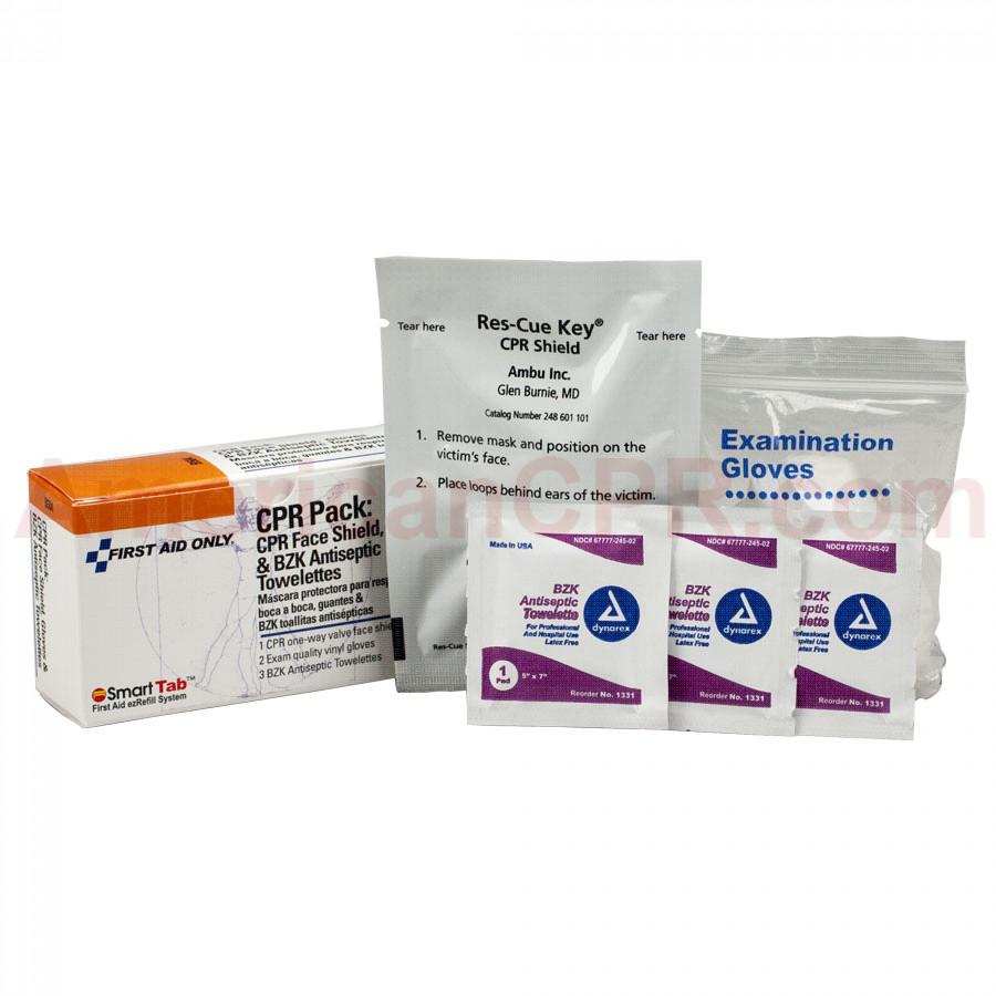 CPR Pack - 1 Set Per Box - Pac-Kit by First Aid Only