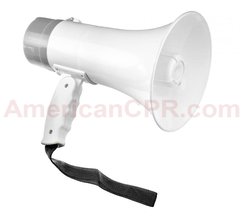 10W Rechargeable Megaphone (Talk, Record, Play Music), SE