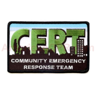 C.E.R.T. Logo Patch - Mayday