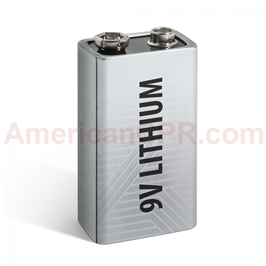 9V Lithium Battery - Defibtech