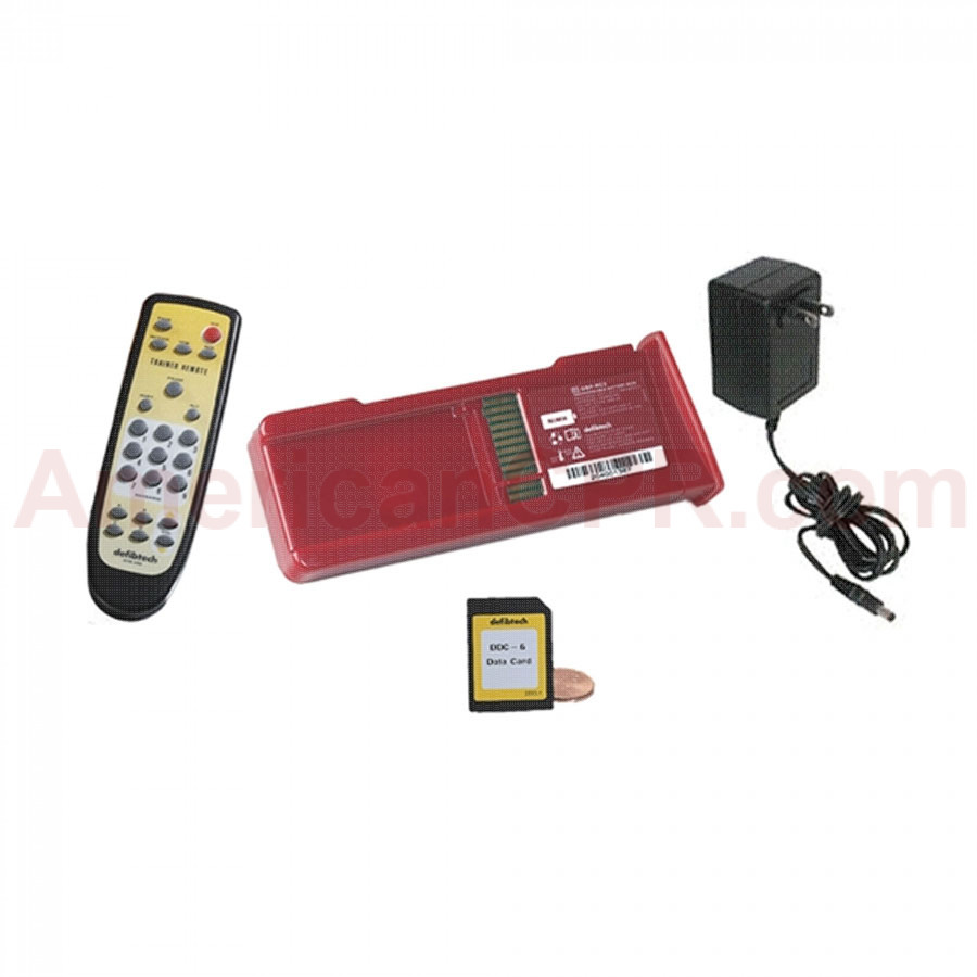 Defibtech AED Training Package (DCF-302T with remote) - Defibtech