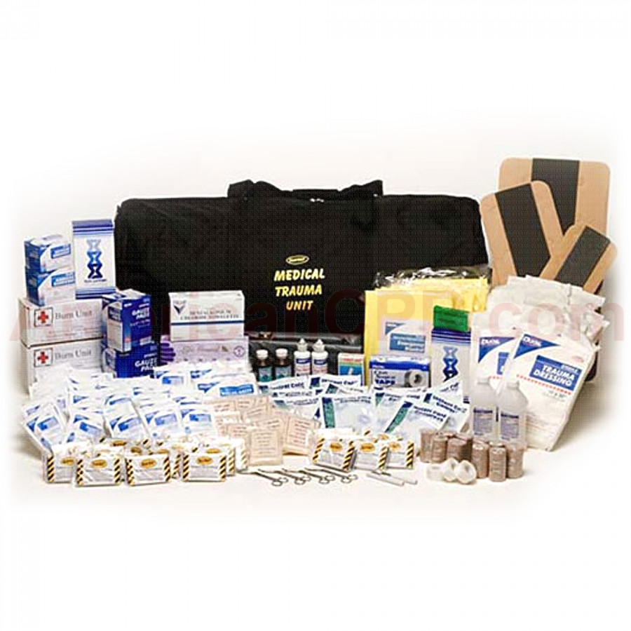 50 Person, First Aid Trauma Medical Kit - Mayday