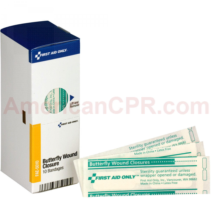 Butterfly Bandages, 10 each - SmartTab EzRefill - SmartCompliance SmartTab ezRefill