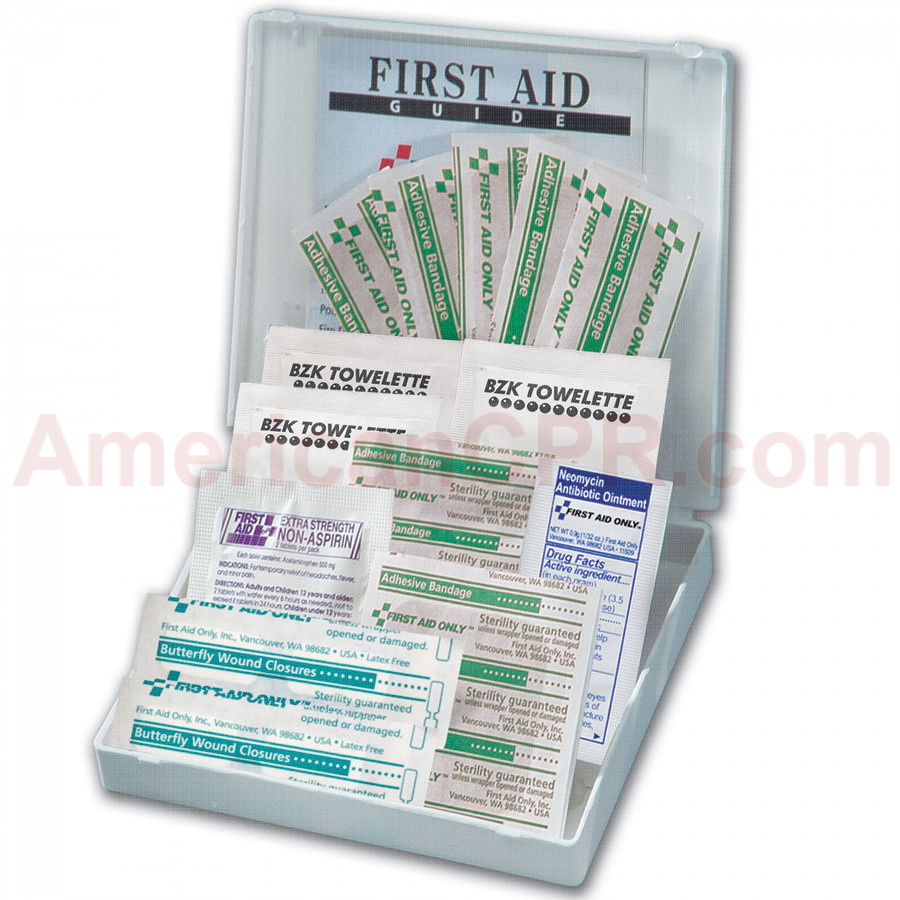 All Purpose First Aid Kit, 21 Pieces - Mini - First Aid Only