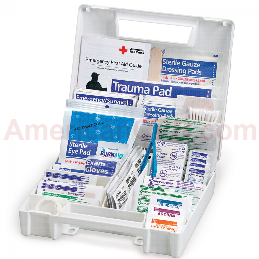 All Purpose First Aid Kit, 200 Pieces - Large - First Aid Only