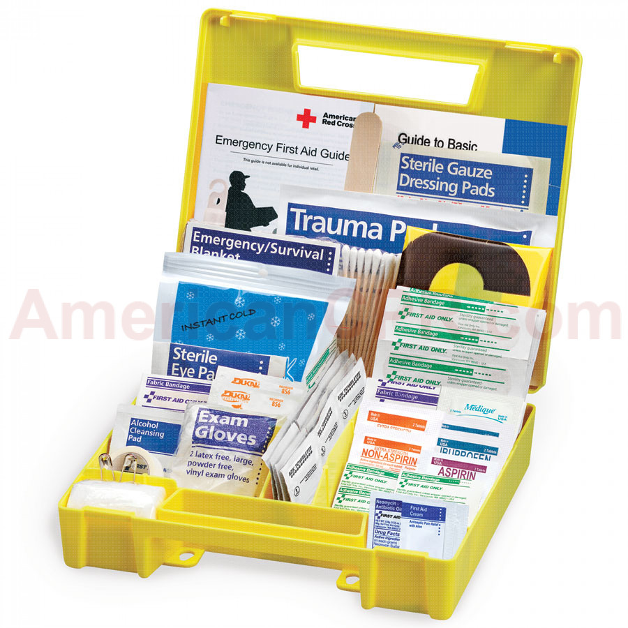 Auto First Aid Kit, 138 Pieces - Large - First Aid Only