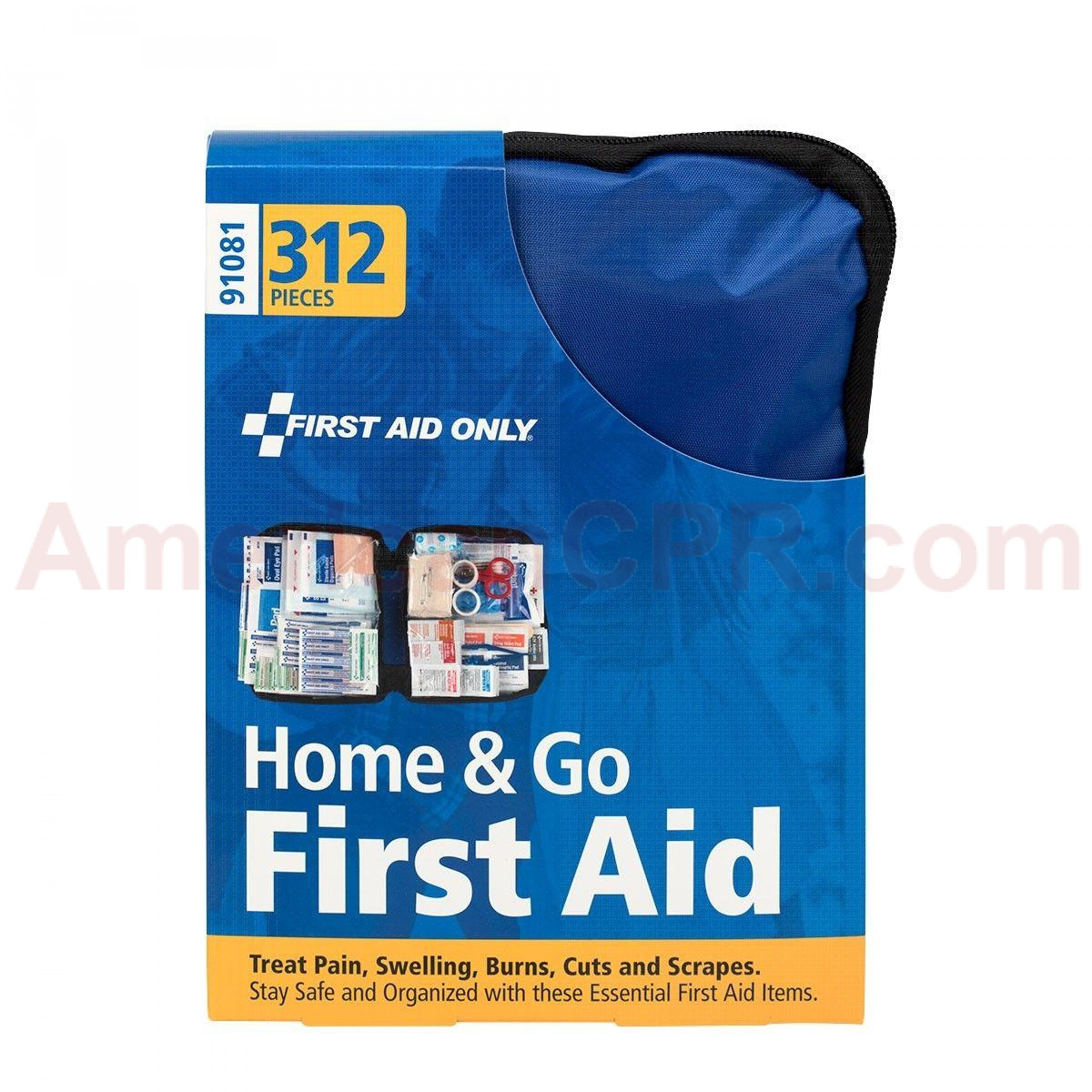 All Purpose First Aid Kit, Softsided, 312 Pieces - Large - First Aid Only