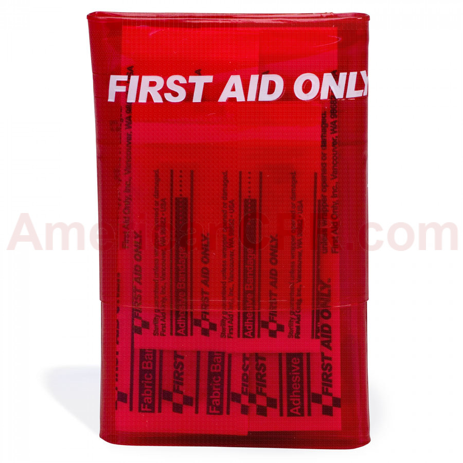 Red Mini First Aid Kit - 18 Pieces - First Aid Only