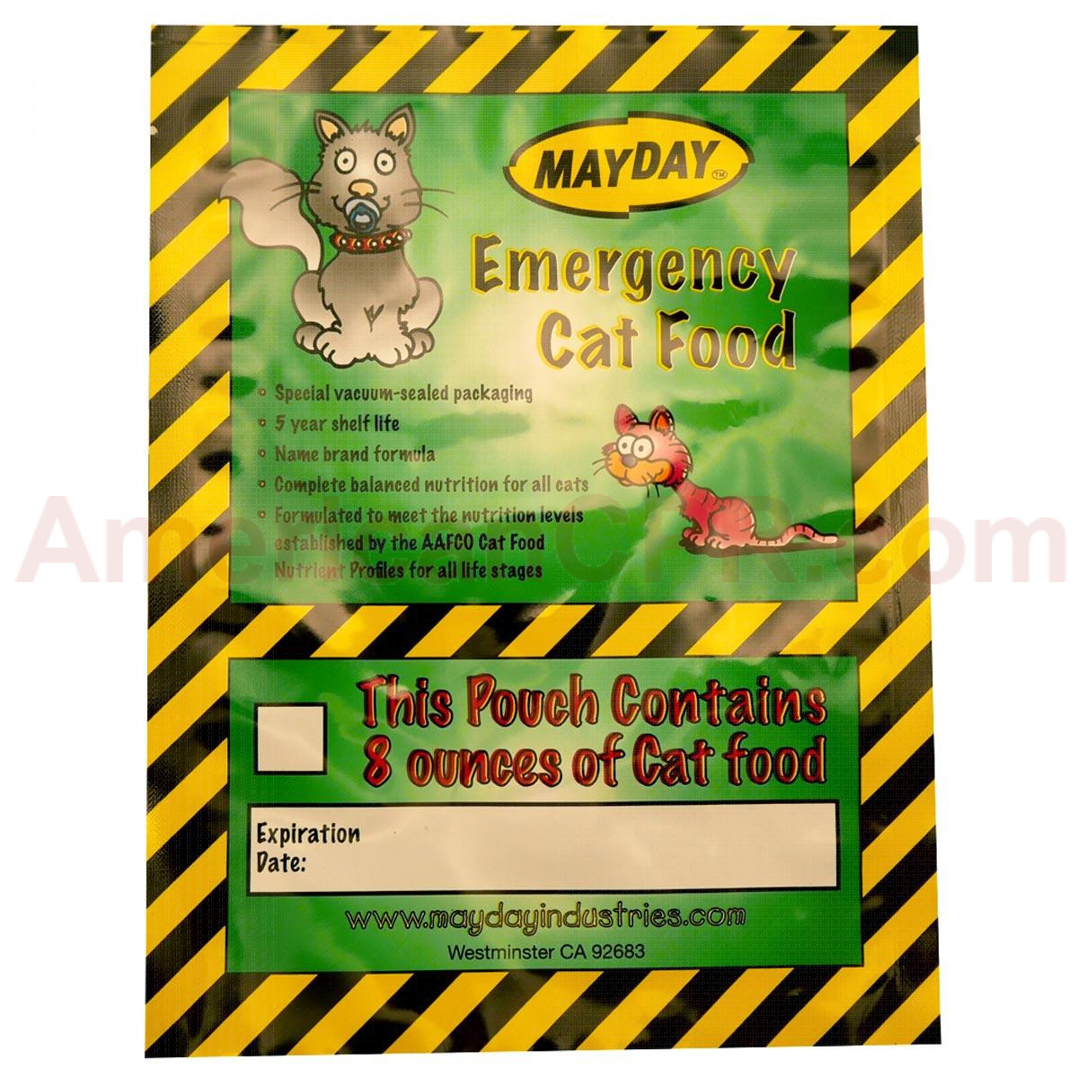 Emergency Cat Food - Mayday