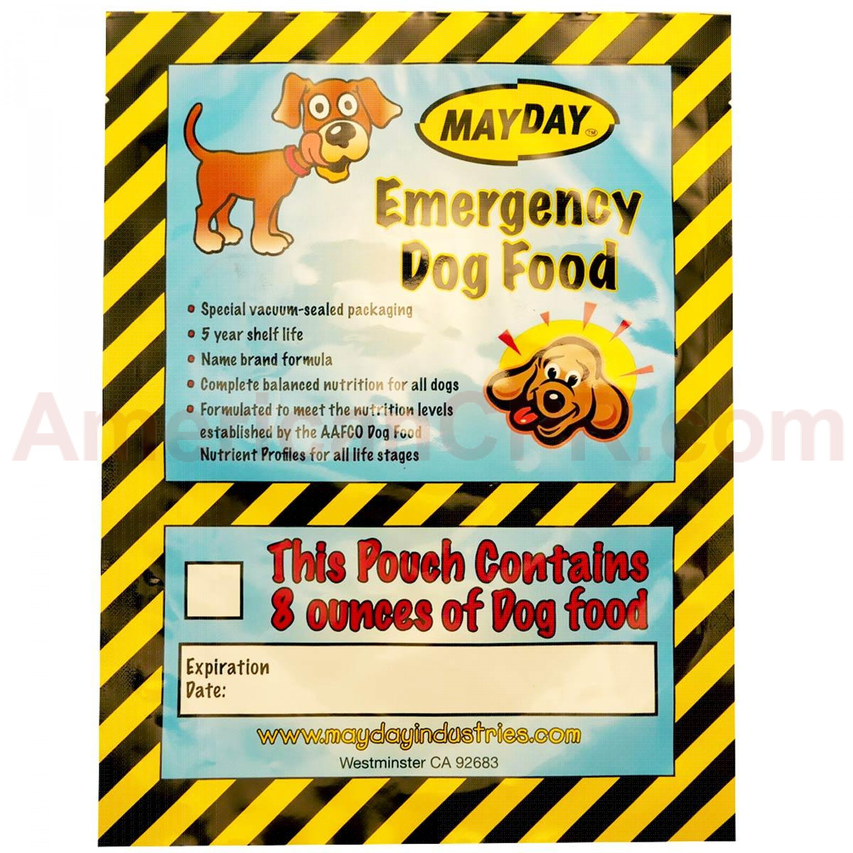 Emergency Dog Food - Mayday