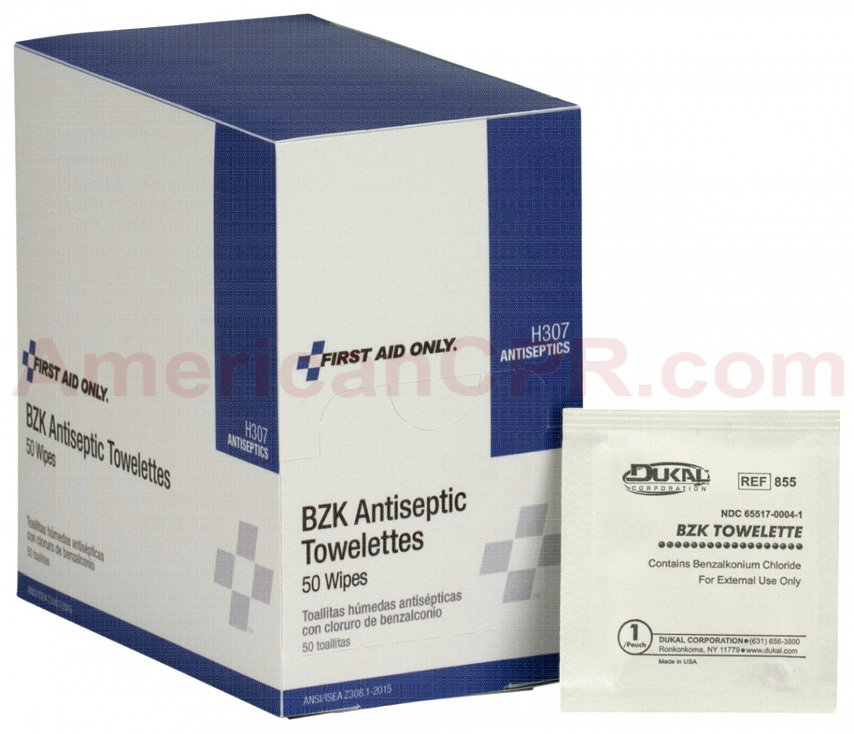 Antiseptic pads saturated with 0.133% Benzalkonium Chloride to help prevent infection in minor cuts, burns and scrapes