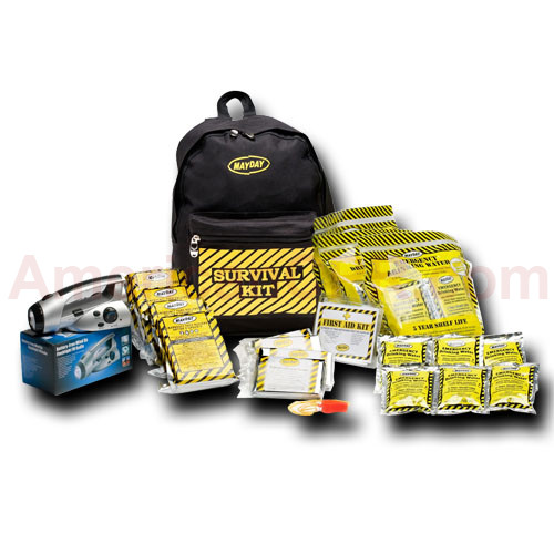 Economy Emergency Kit - 4 Person - Backpack - Mayday