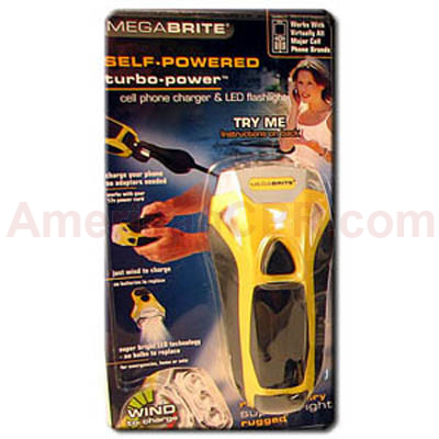 Dynamo Mega Brite Turbo Flashlight w/ Phone Charger - Mayday