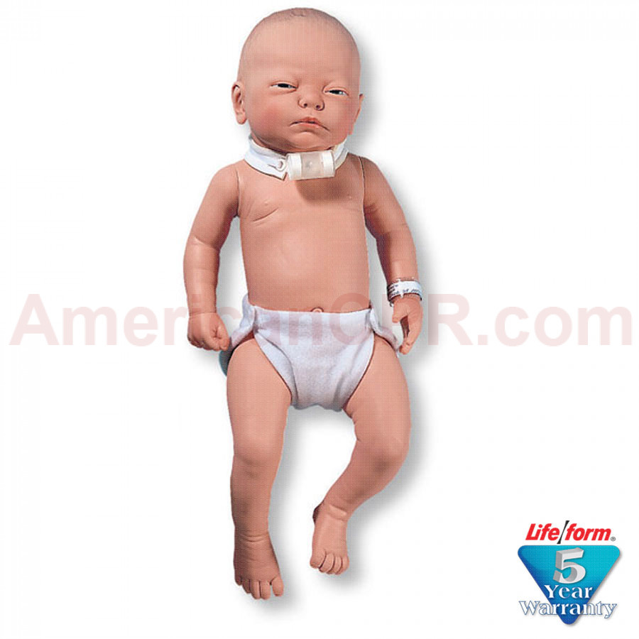 Infant Patient Education Tracheostomy Care Manikin - LifeForm