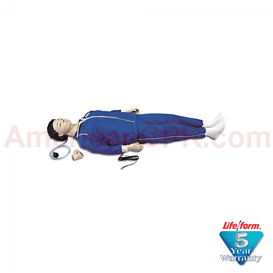 CPARLENE Full Manikin w/ Electronic Connections - White - CPARLENE