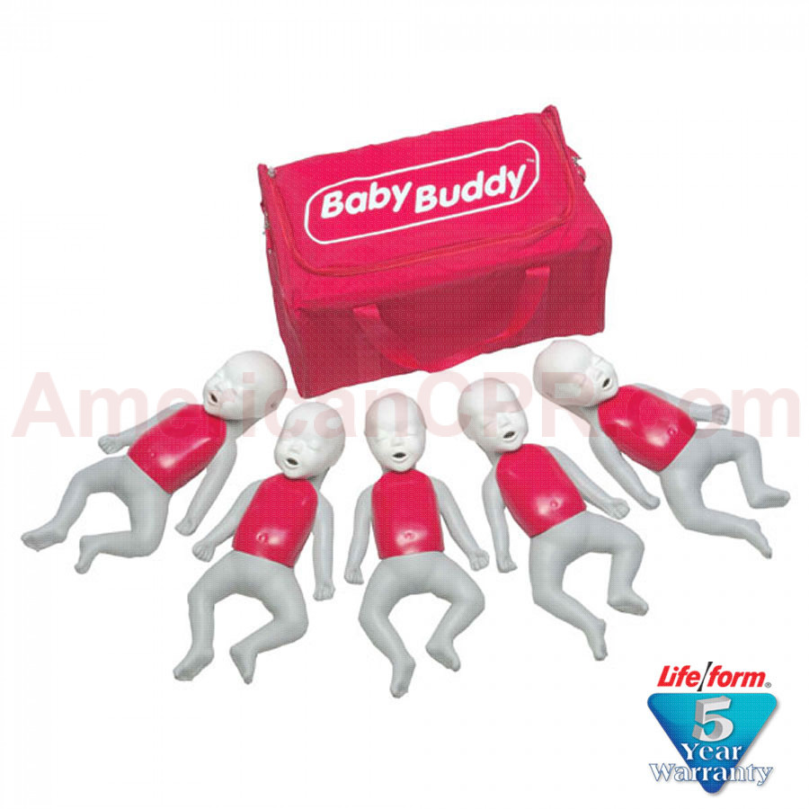 Baby Buddy Infant CPR Manikin - 5 Pack - Baby Buddy