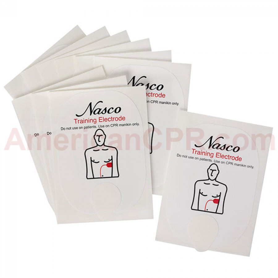 Training Pads for NASCO AED Trainer - LifeForm