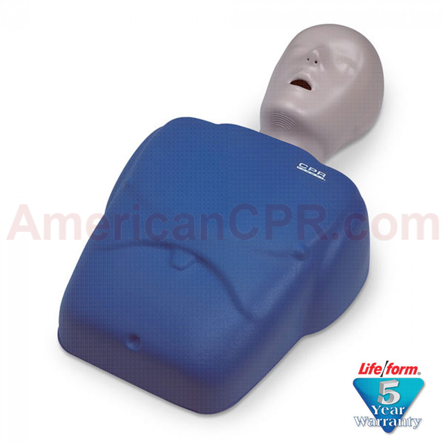CPR Prompt Adult/Child Manikin - Blue - CPR Prompt
