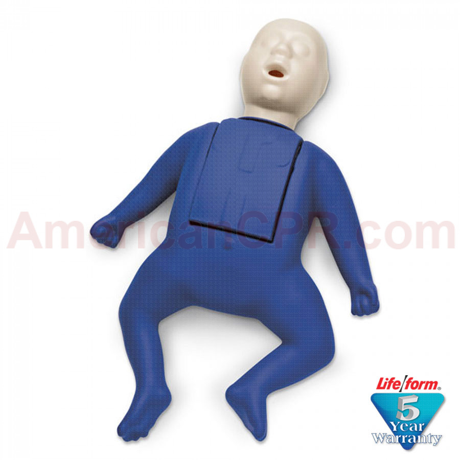 CPR Prompt  Infant Manikin - Blue - CPR Prompt