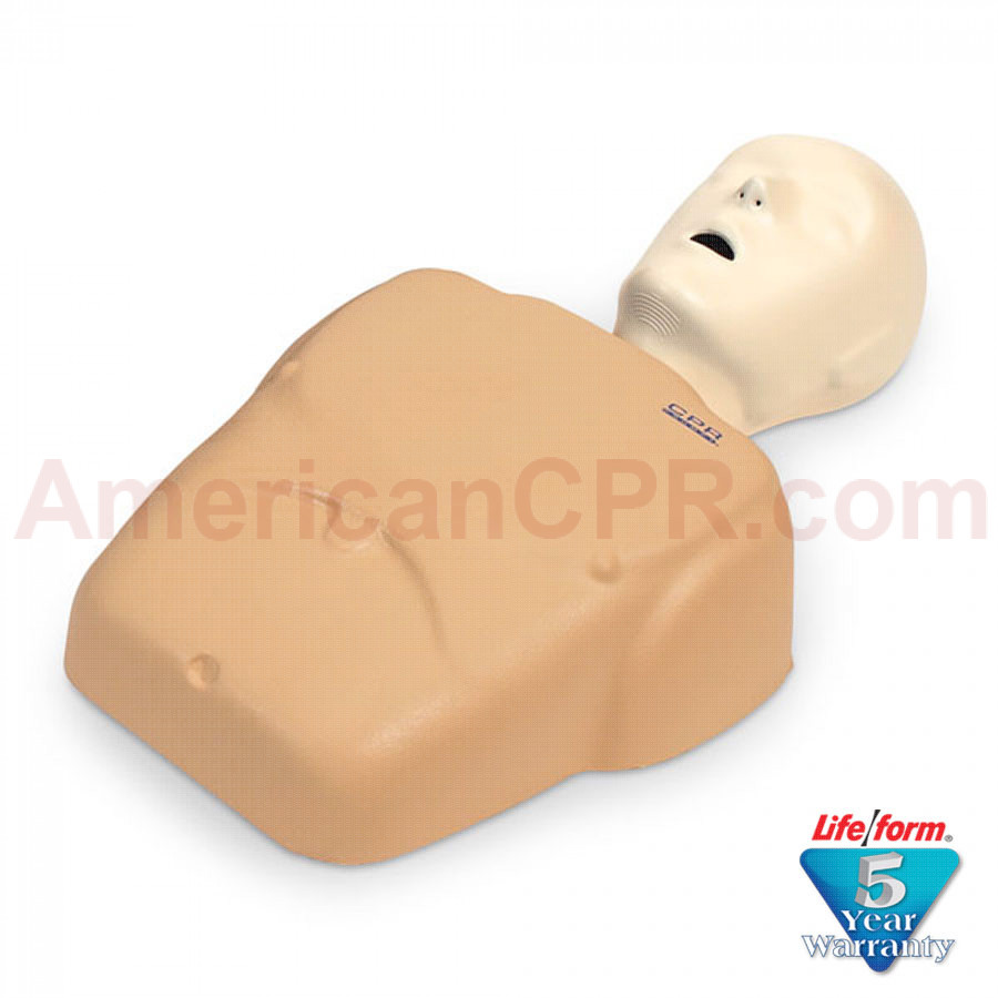 CPR Prompt  Adult/Child Manikin - Tan - CPR Prompt
