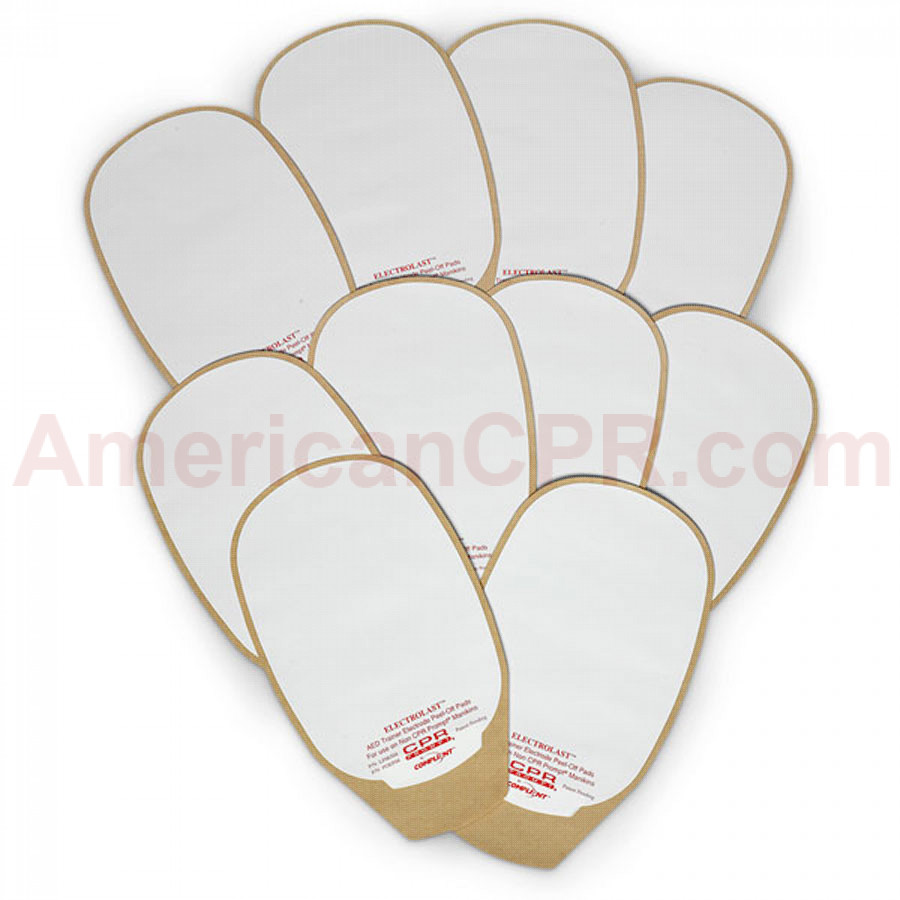 Skin Electrode Peel-Off Pads - Medtronic Physio-Control - CPR Prompt