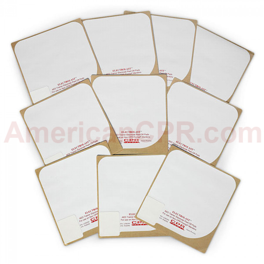 Skin Electrode Peel-Off Pads - CardiacScience Survivalink - CPR Prompt