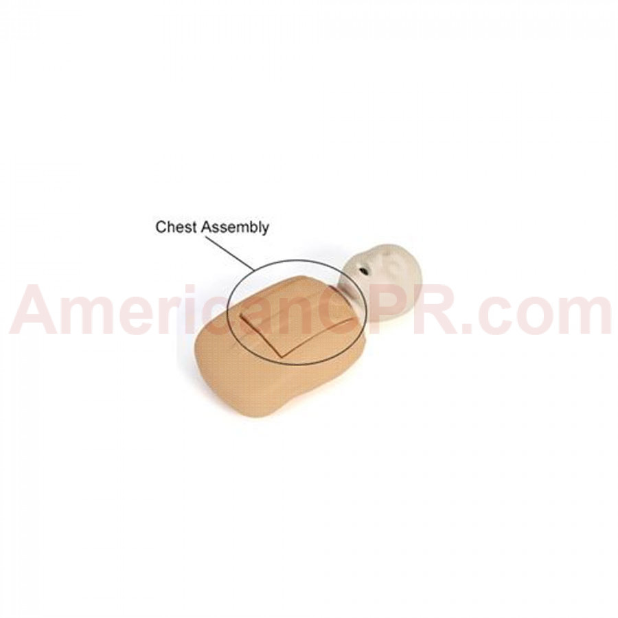 CPR Prompt Coated Infant Chest Assembly - Tan - CPR Prompt