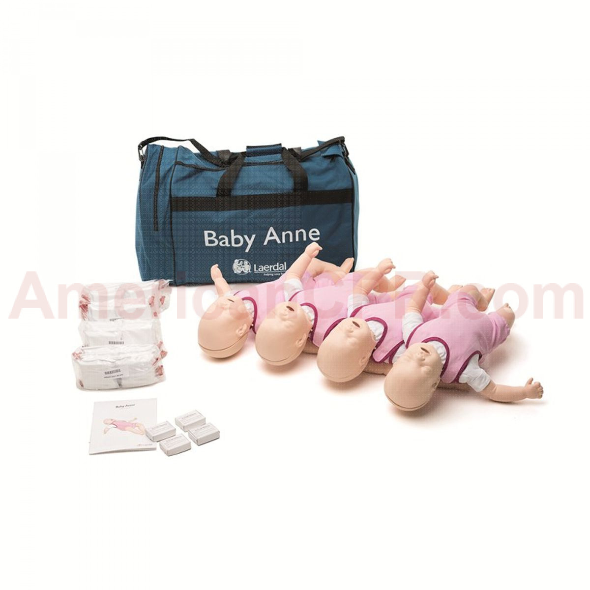 Baby Anne - Infant CPR Manikin - 4 Pack - Laerdal