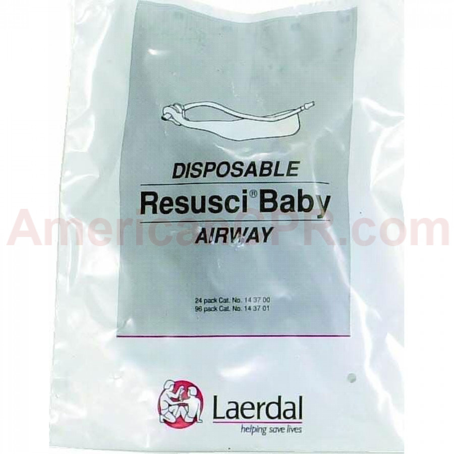 Resusci Baby - Infant Manikin Airways - 24 Per Pack - Laerdal