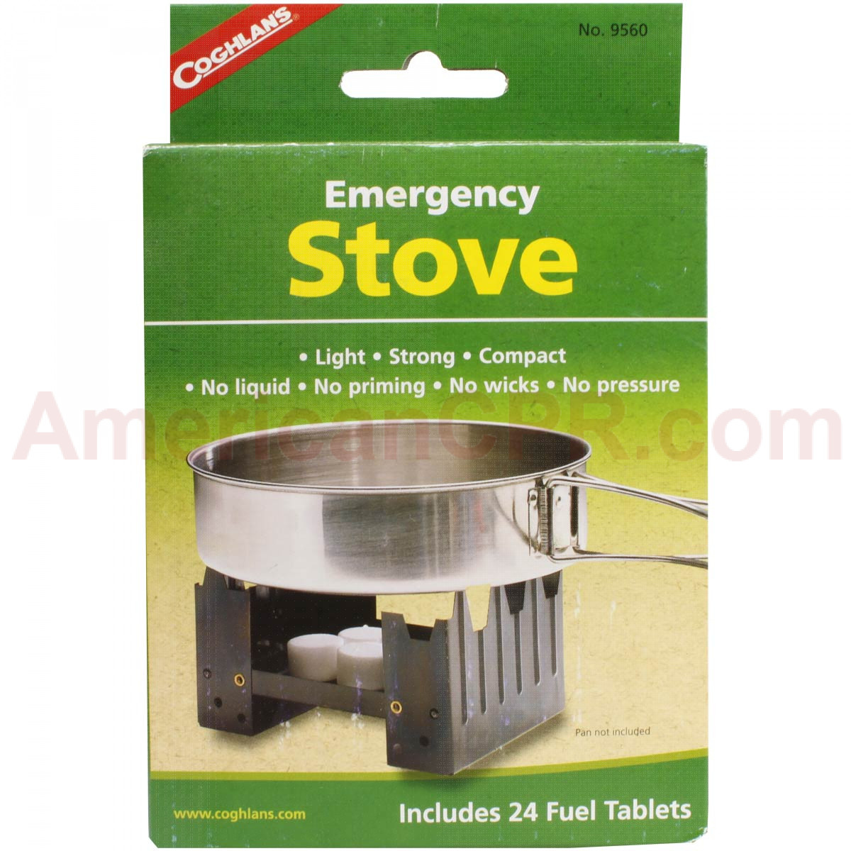 Portable Stove with 8 Fuel Tablets - Mayday