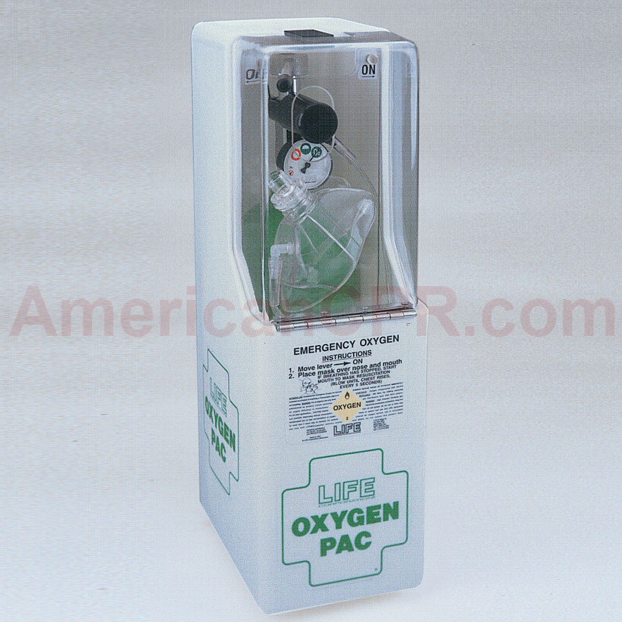 Life OxygenPac - 6 LPM - Fixed-Flow - Life