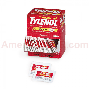 Extra-Strength Tylenol - 100 Per Box - Tylenol