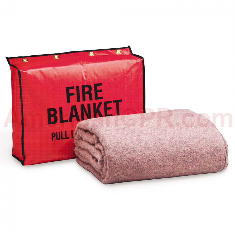 Fire Retardant Blanket w/ Vinyl Bag - First Aid Only