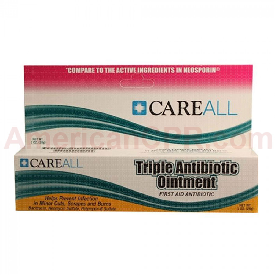 Triple Antibiotic Ointment, 1 oz. Tube - 1 Each - Value Brand