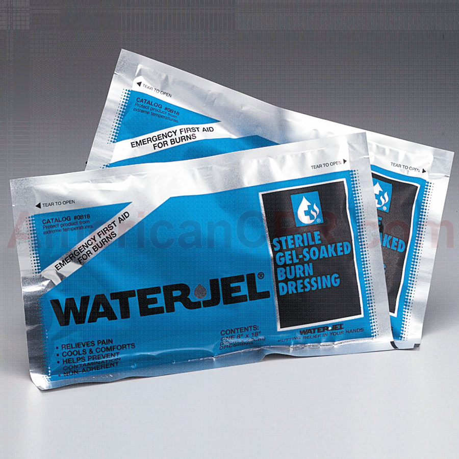 "Water Jel Burn Dressing, 8""x18"" - Water-Jel"