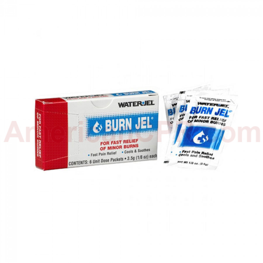 Water Jel Burn Relief - 3.5 gm. - 6 Per Box - Water-Jel