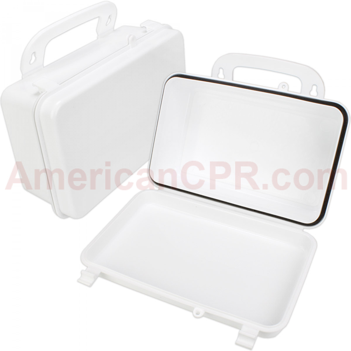 Empty Polypropylene Case w/ Gasket - 10 Unit - First Aid Only
