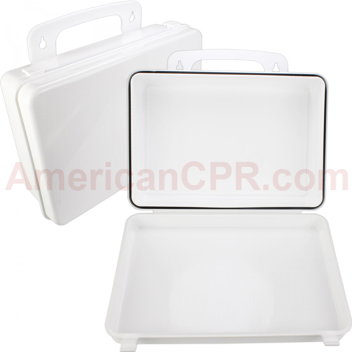 Empty Polypropylene Case w/ Gasket - 16 Unit - First Aid Only