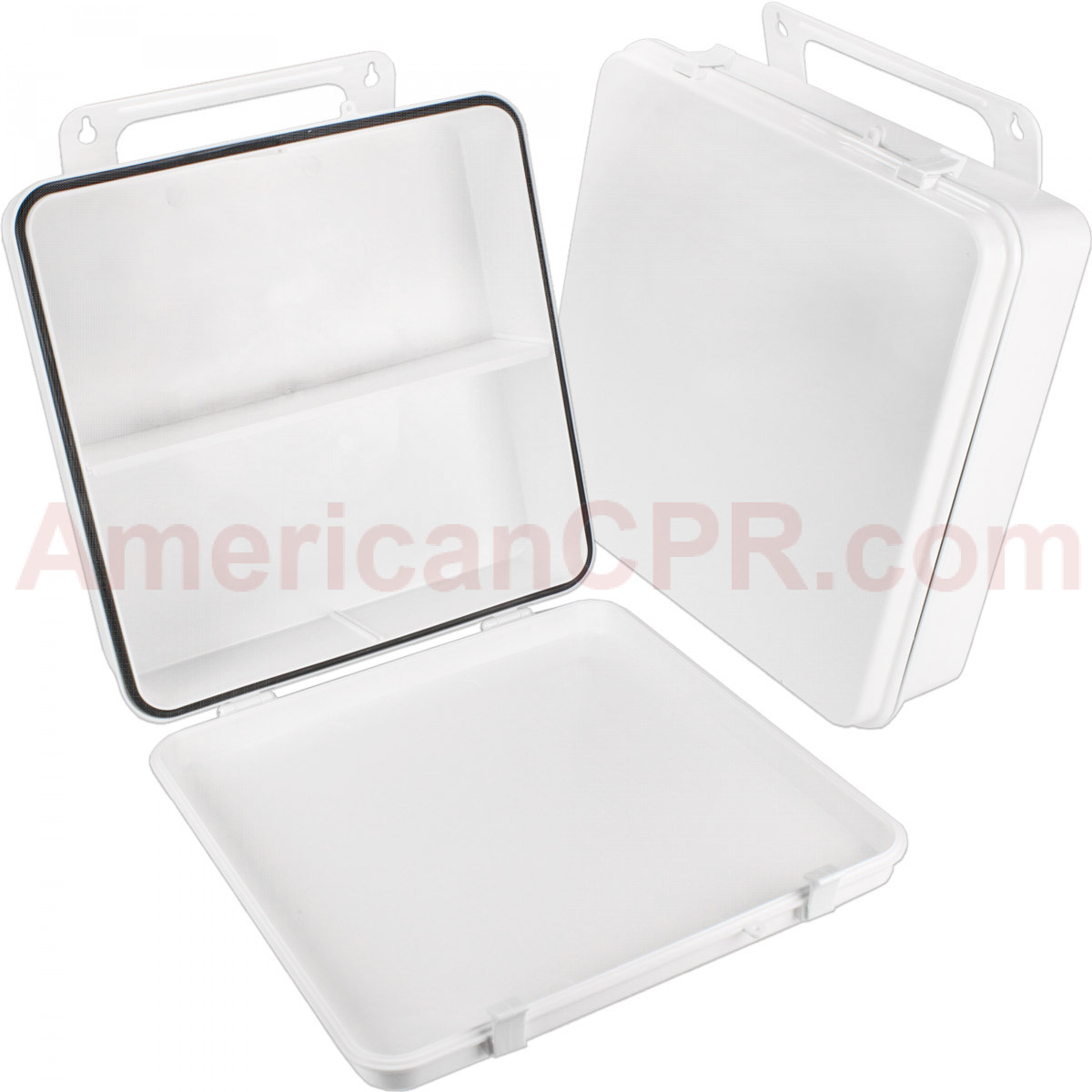 Empty Polypropylene Case w/ Gasket - 24 Unit - First Aid Only