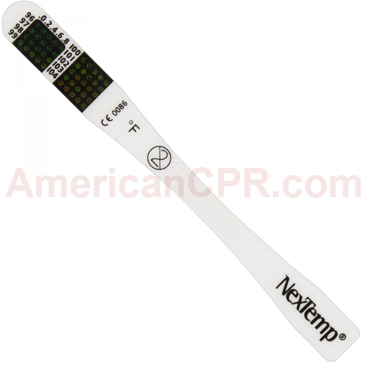 "Single-Use Disposable Thermometer - 3-1/2"" - 1 Each - NexTemp"