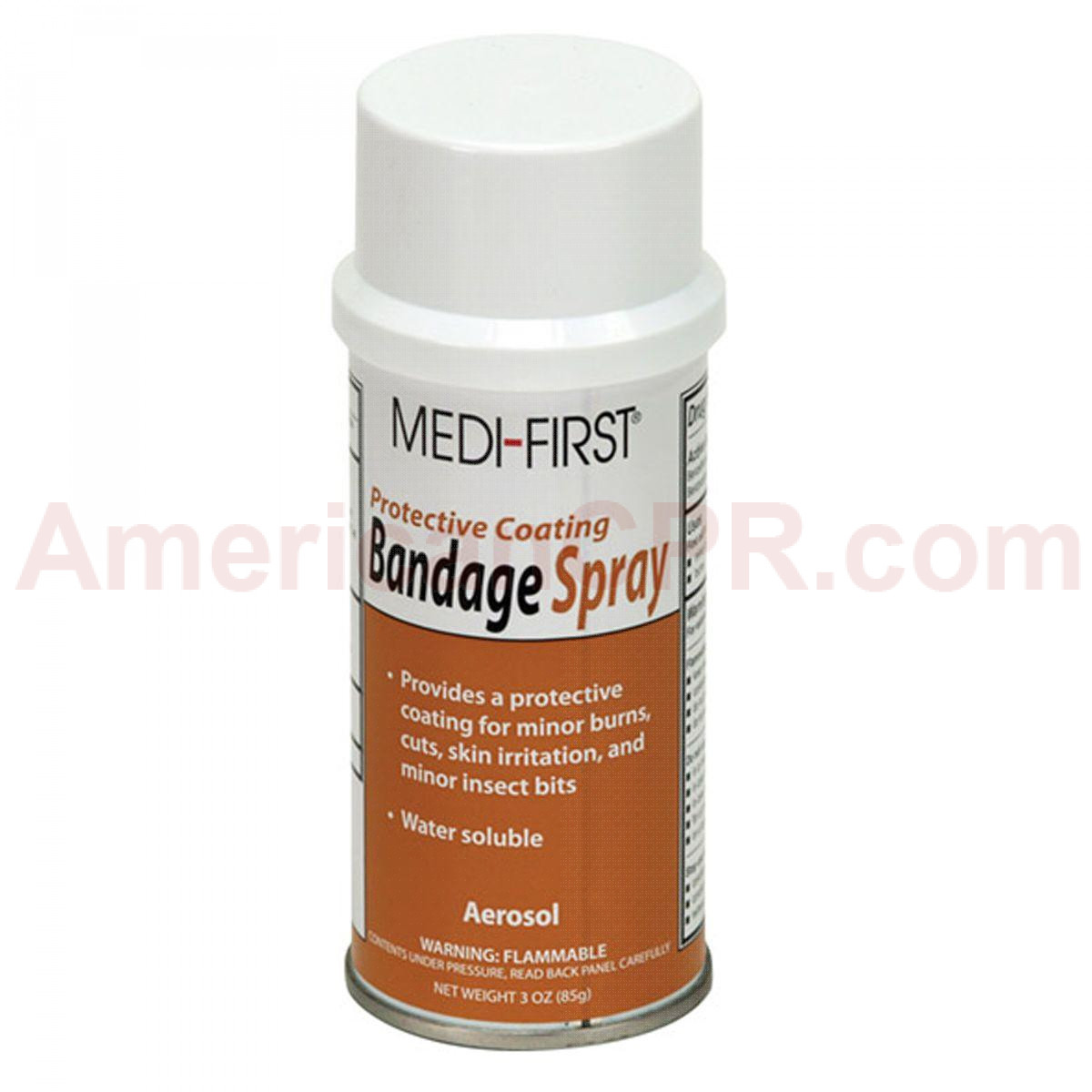 Bandage Spray, 3 oz. Aerosol - 1 Each - Pac-Kit