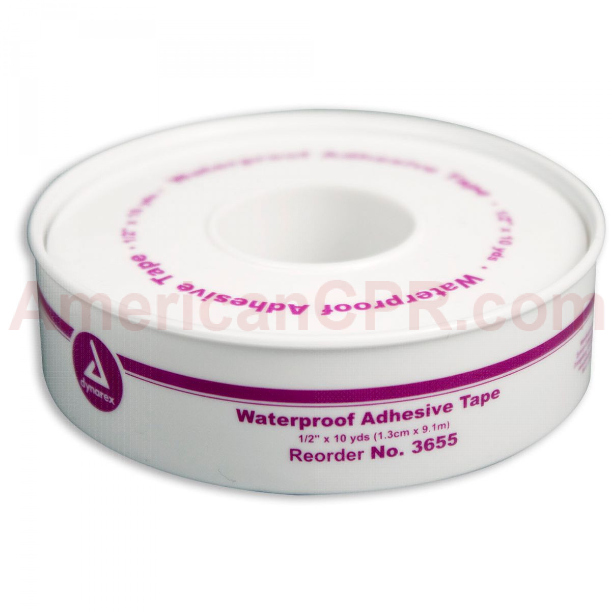 "1/2"" x 10 yd. Waterproof Tape - Plastic Spool - 1 Each - Dynarex"