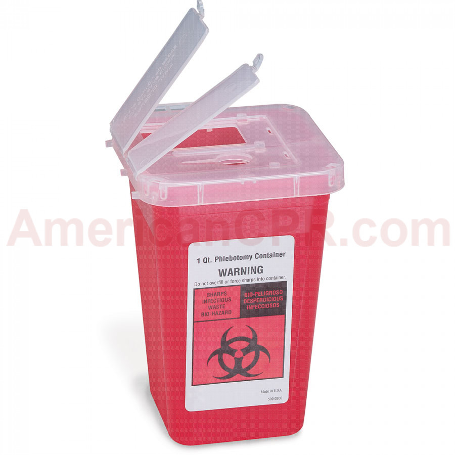 Sharps Container, 1Quart - Medical Action