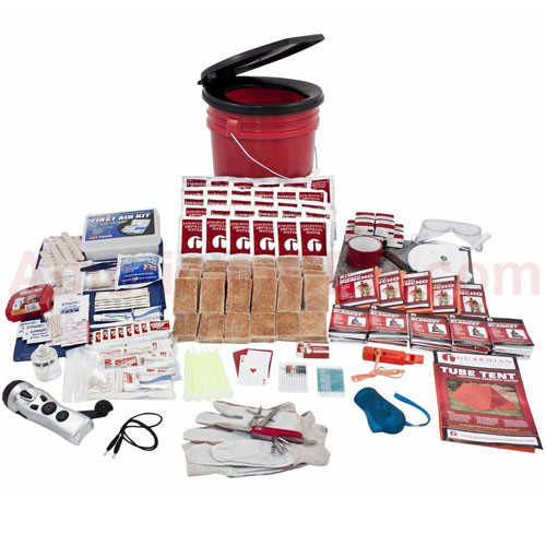 5 Person Guardian Bucket Survival Kit - Guardian Survival Gear