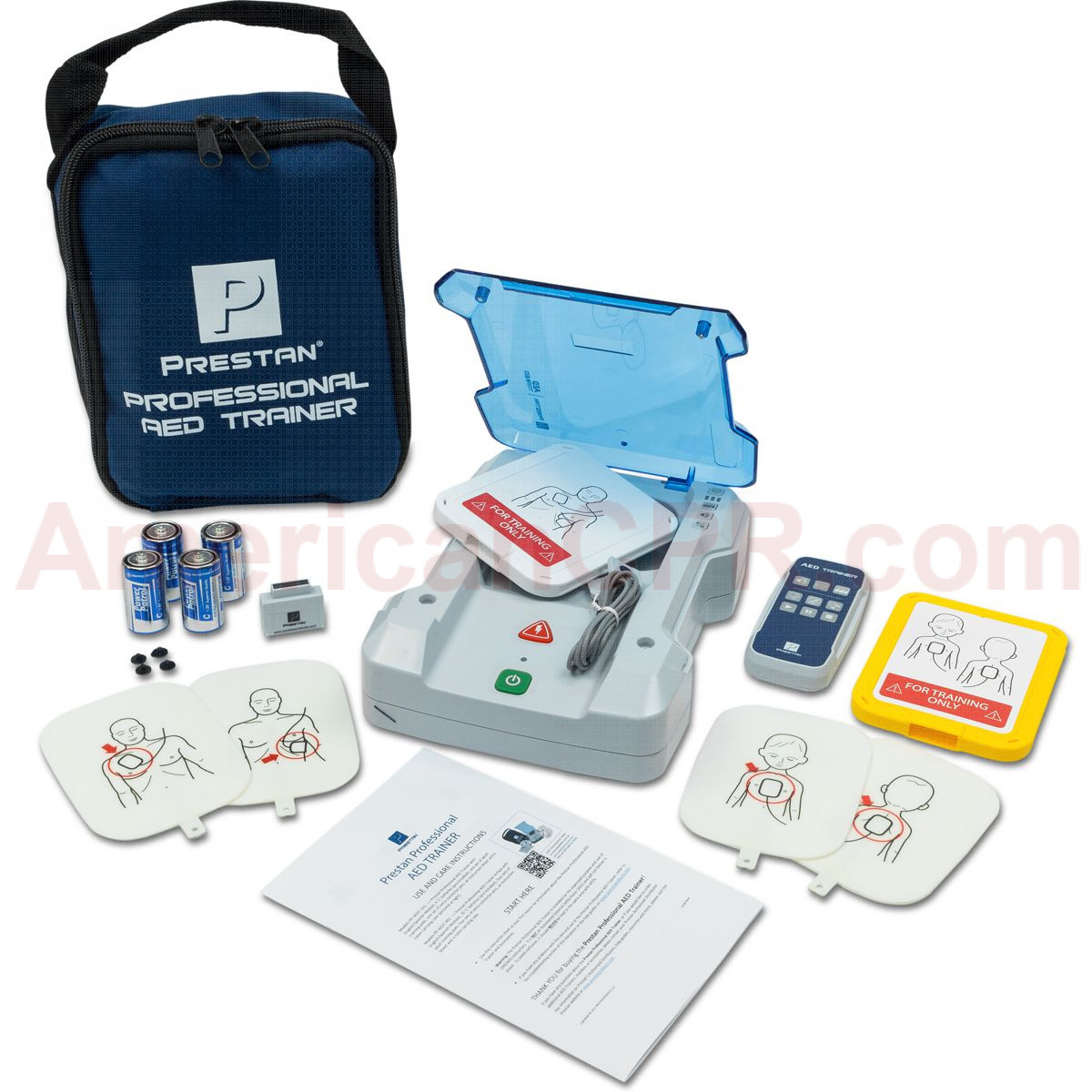 Prestan Professional AED Trainer Plus Kit - Prestan Products