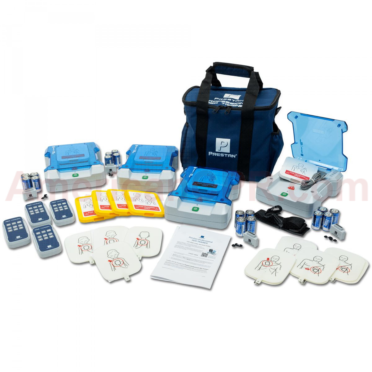 Prestan Professional AED Trainer Kit, 4 Pack, Prestan Products