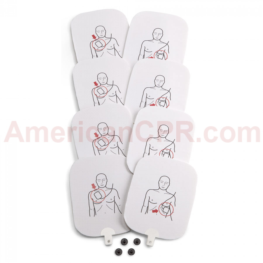 Prestan Professional AED Trainer Pads, 4 Pack - Prestan Products