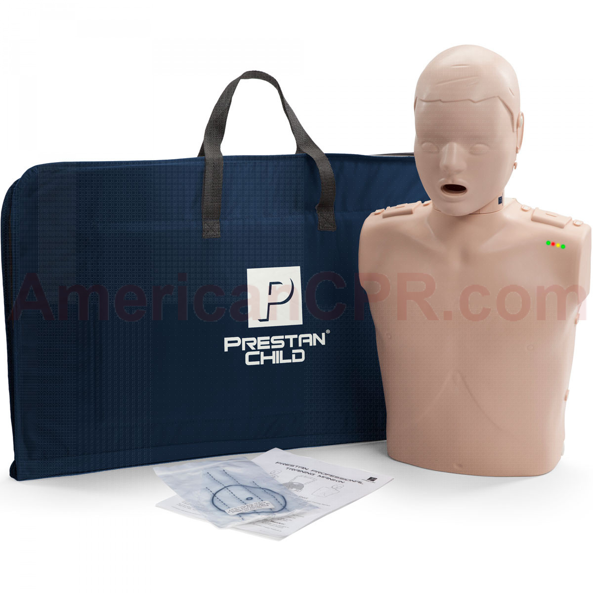 Prestan Child CPR Manikin w/ Monitor - Medium Skin - Prestan Products