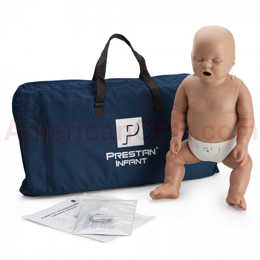 Prestan Infant CPR Manikin w/ Monitor - Dark Skin - Prestan Products