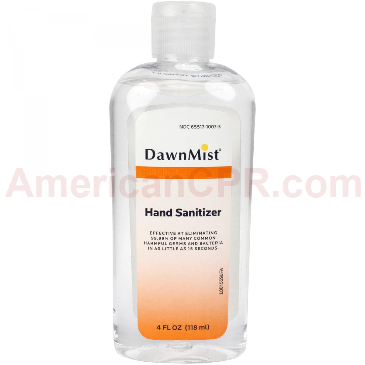 Generic Hand Sanitizer 4 oz. - Value Brand